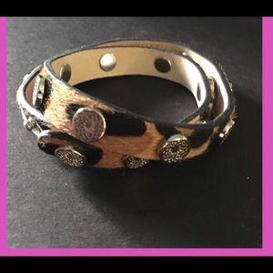 BN Southhill Designs Leopard Wrap Bracelet